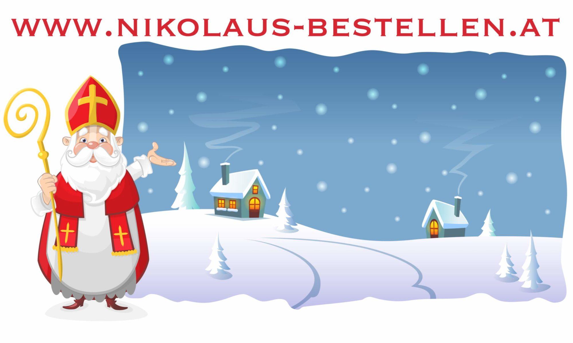 Nikolaus bestellen in Wien, Linz, Graz, Salzburg und umgebung